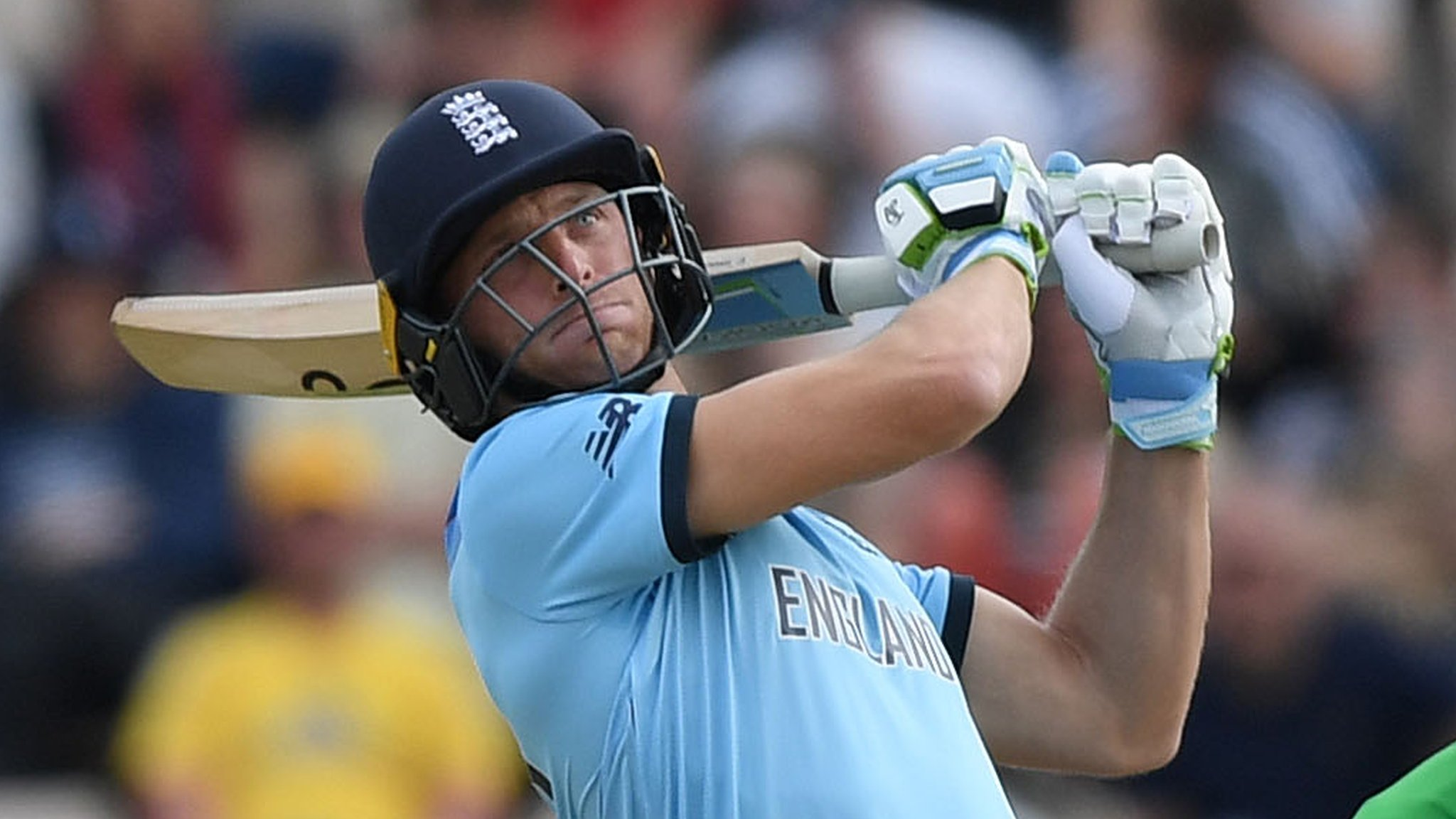 England v Australia: Jos Buttler hits 24 off one Nathan Coulter-Nile over