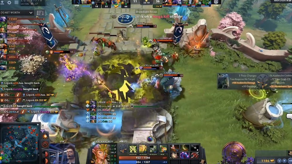 Dota 2 win makes N0tail the top-awarded e-sports star - BBC News