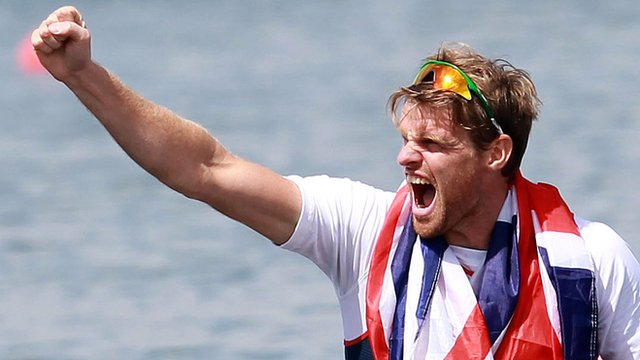 Coleraine sculler Alan Campbell won a bronze medal at the London Olympics in 2012