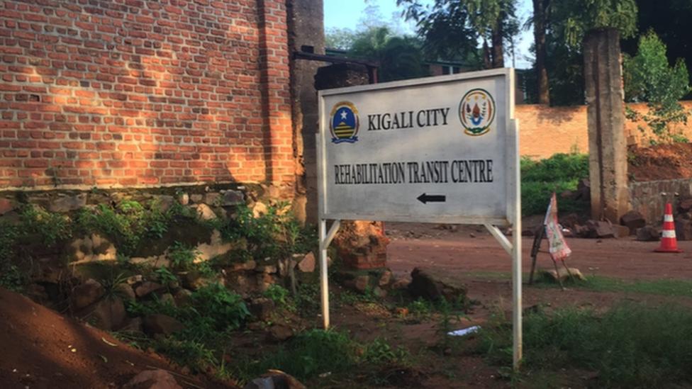 Kigali City Rehabilition transit centre