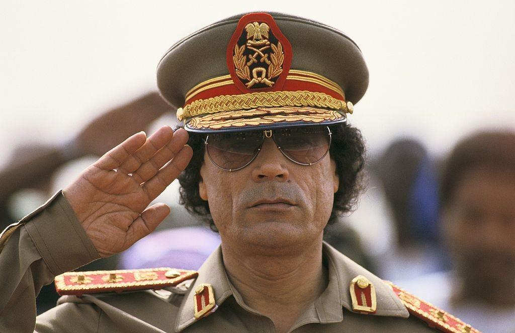 الرئيس الليبي الراحل
