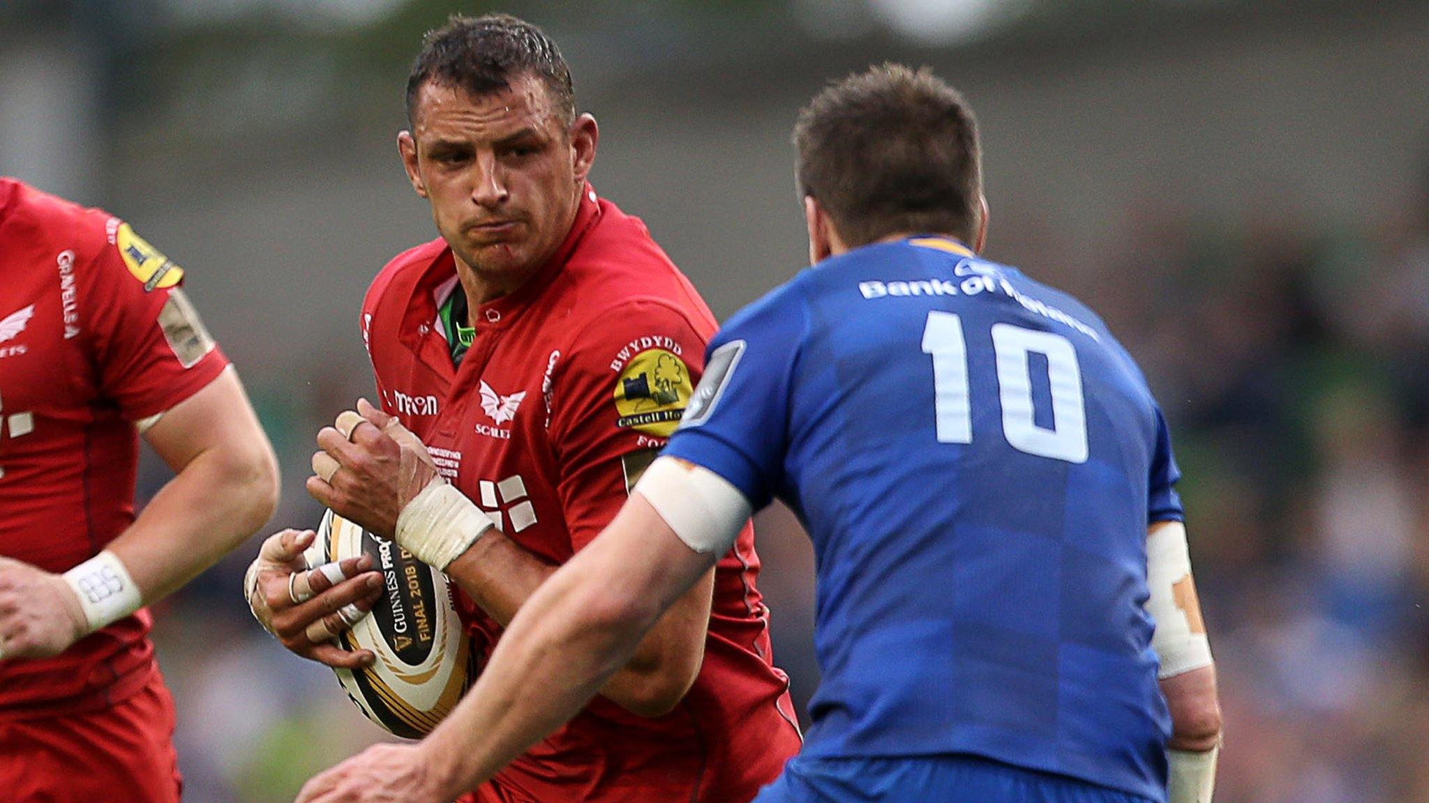 Scarlets' Aaron Shingler a doubt for Wales summer tour