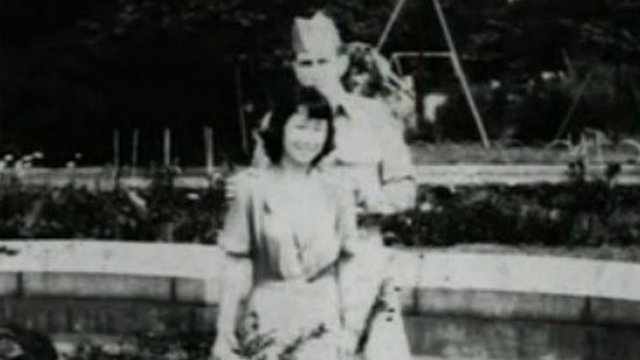 Japanese wife with US soldier husband