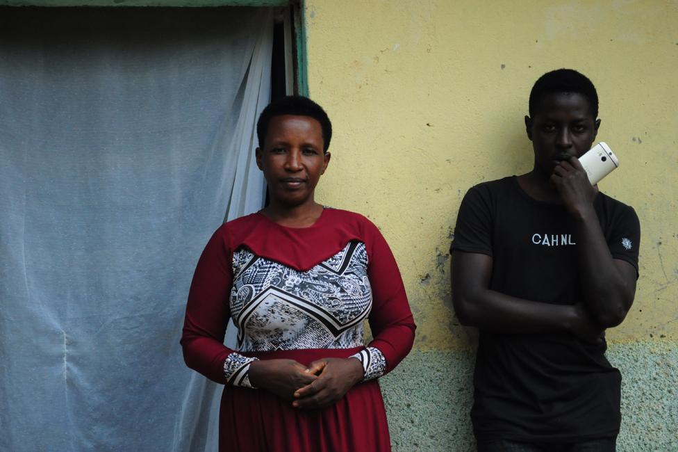 Danijel i njegova majka