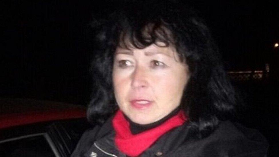 Teacher under arrest in Ukraine