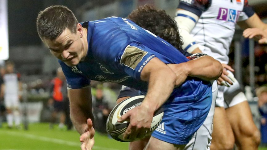 Five-try Leinster overpower Edinburgh