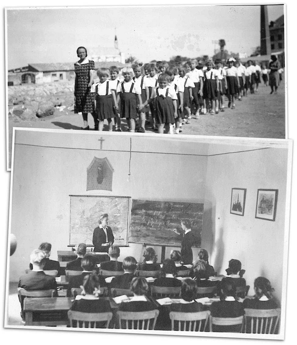 La escuela en Santa Rosa