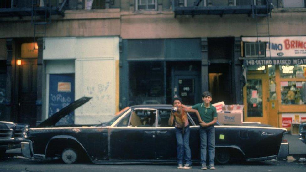 Imagen de Nueva York en los años 70
