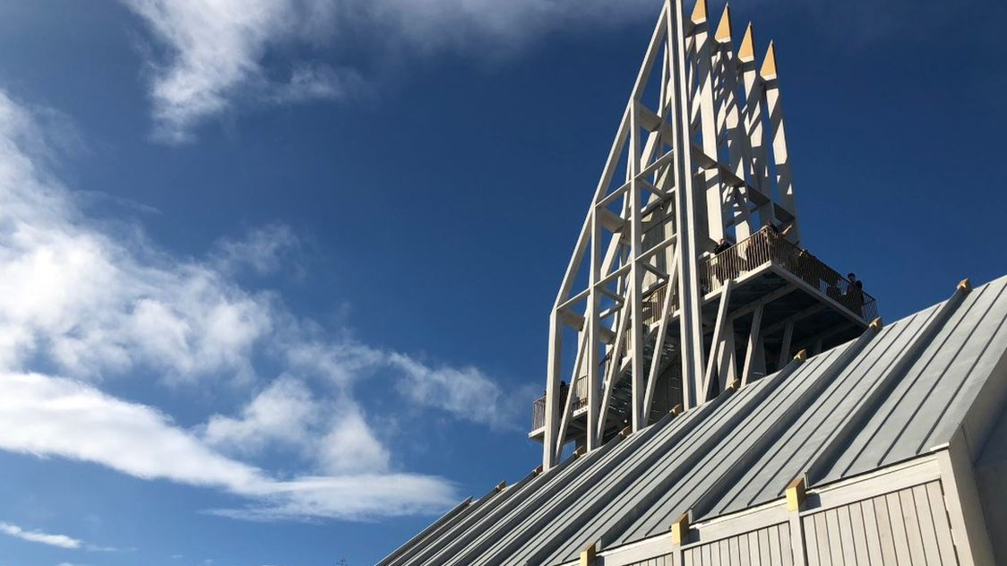 Auckland Tower tourist attraction opens to the public