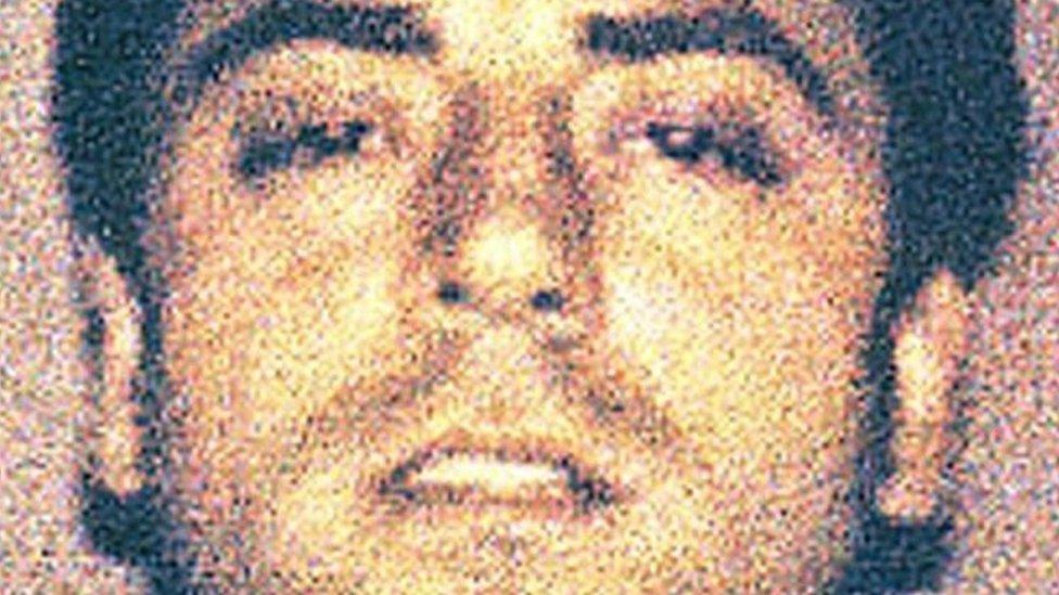 صورة لـ فرانك كالي عام 2008 قدمتها الشرطة الإيطالية
