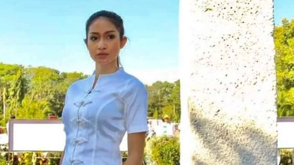 Picture of Shwe Eain Si posted with her Facebook statement on 3 October 2017