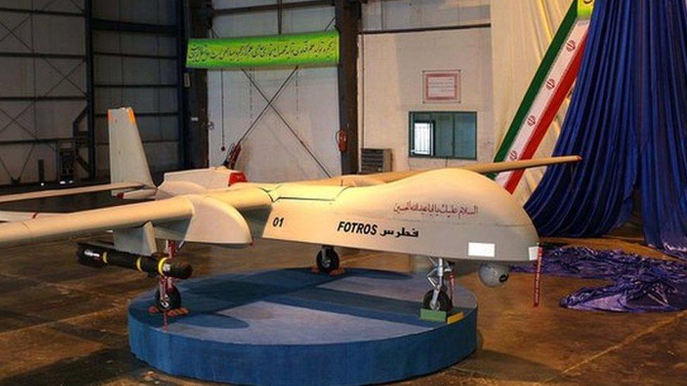 Irán ha desarrollado su propia tecnología de drones.