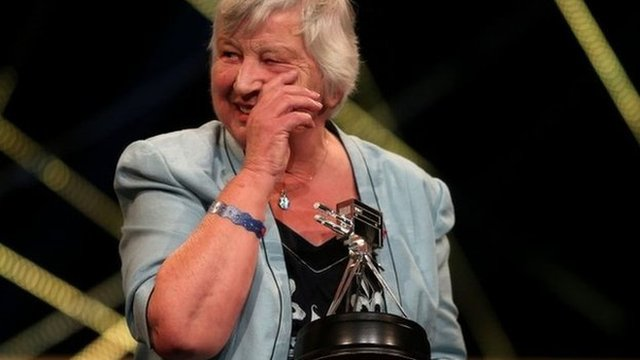 2014 BBC Get Inspired Unsung Hero award winner Jill Stidever
