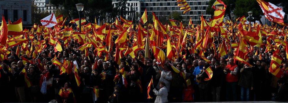 Protest protiv separatista