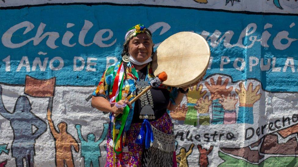 Mapuche mujer