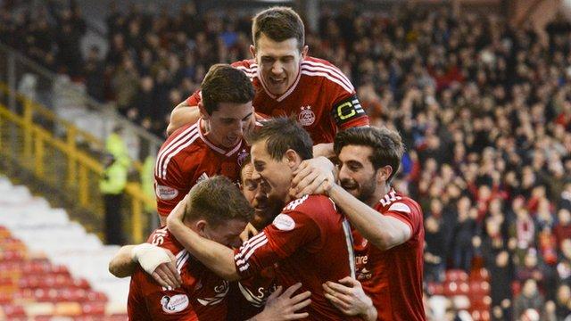Highlights: Aberdeen 2-0 Dundee Utd