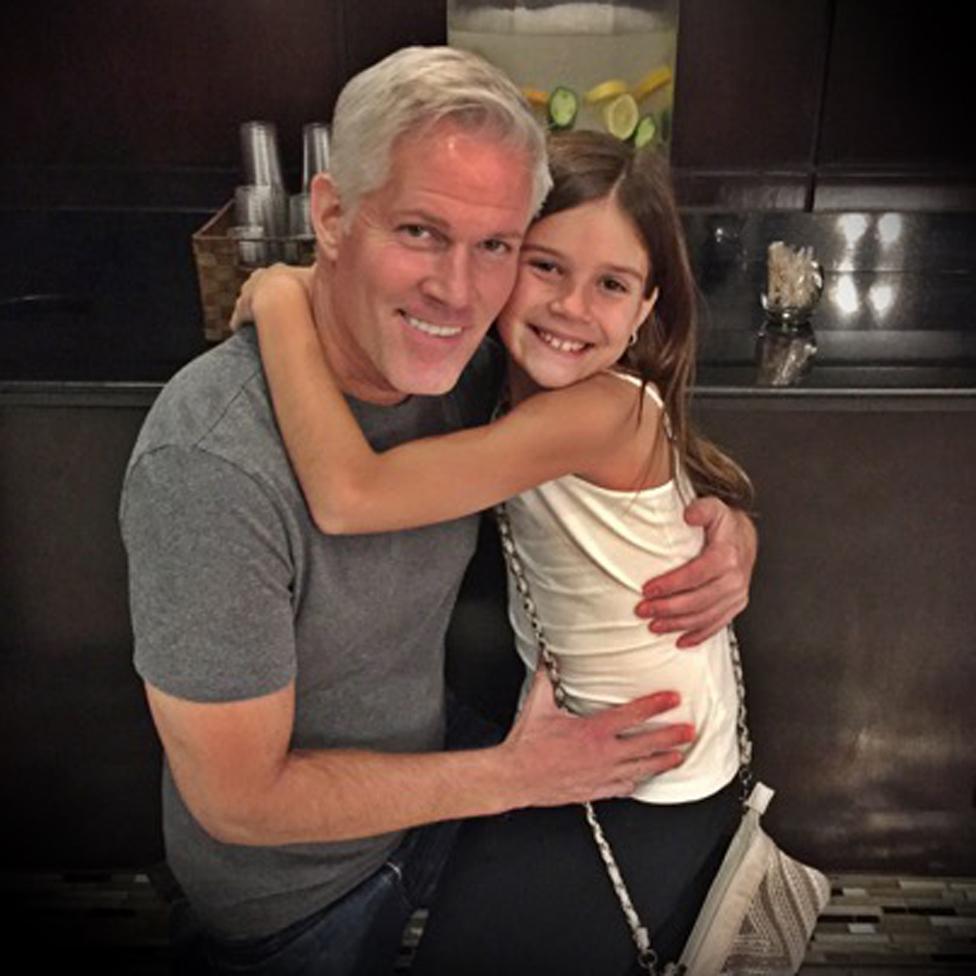 Paul y su hija Emma