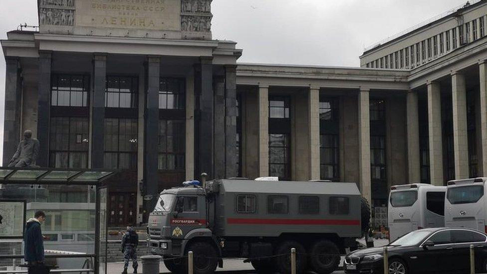 Как российские власти готовились к митингу в поддержку Навального