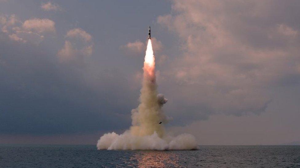 Северная Корея заявила, что успешно запустила баллистическую ракету с подводной лодки