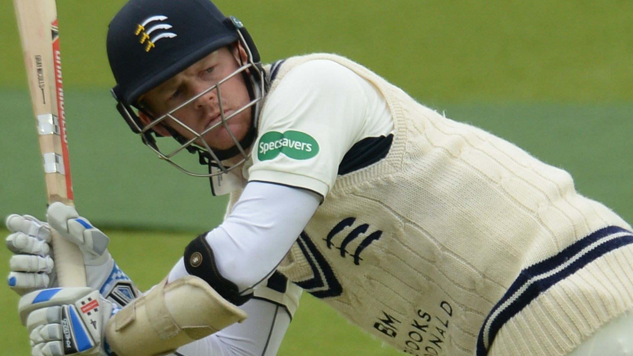 County Championship: Sam Robson & Max Holden help Middx rally against Northants