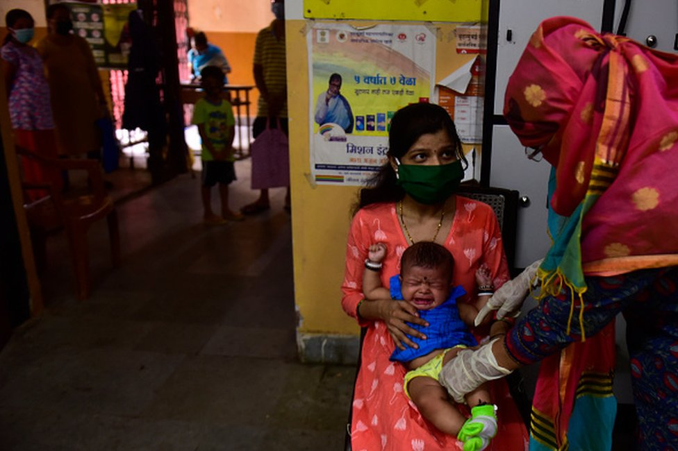 India immunisation programmes is one of the largest in the world. Image credits - Getty Images