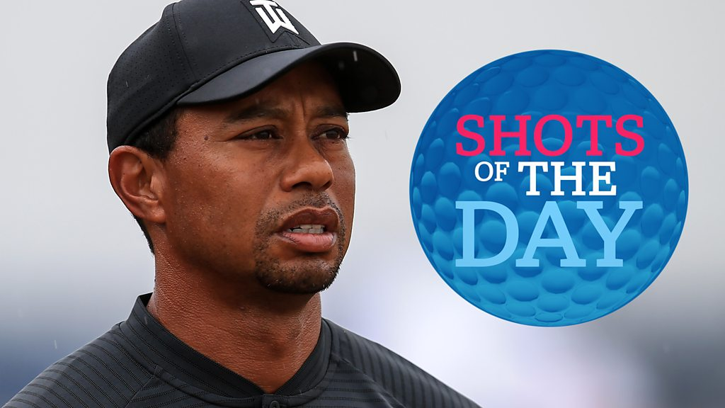 The Open 2018: Tiger Woods, Rory McIlroy and Jordan Spieth feature in best shots