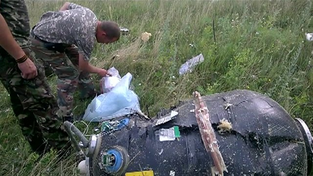MH17 aftermath