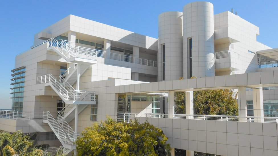 Edificio del Museo Getty.