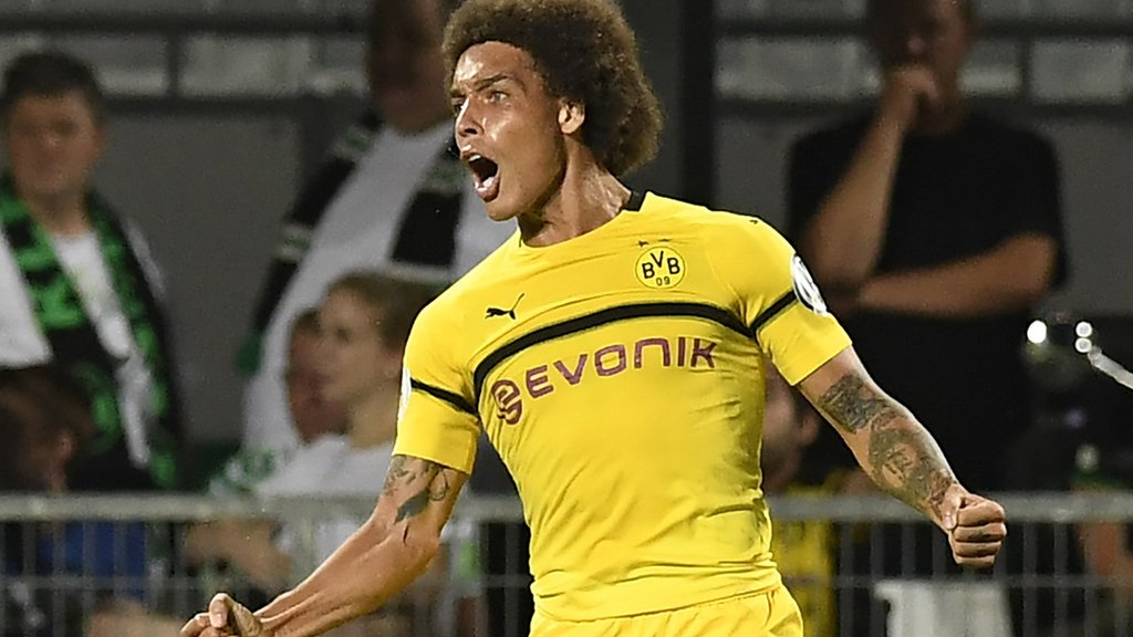 Witsel saves Dortmund with debut goal