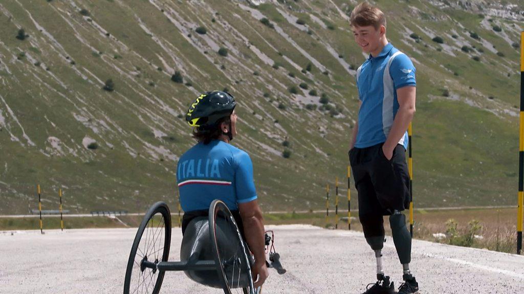 'Losing my legs wasn't a problem'