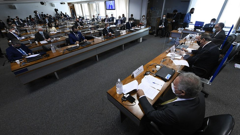 CPI da Covid em sessão