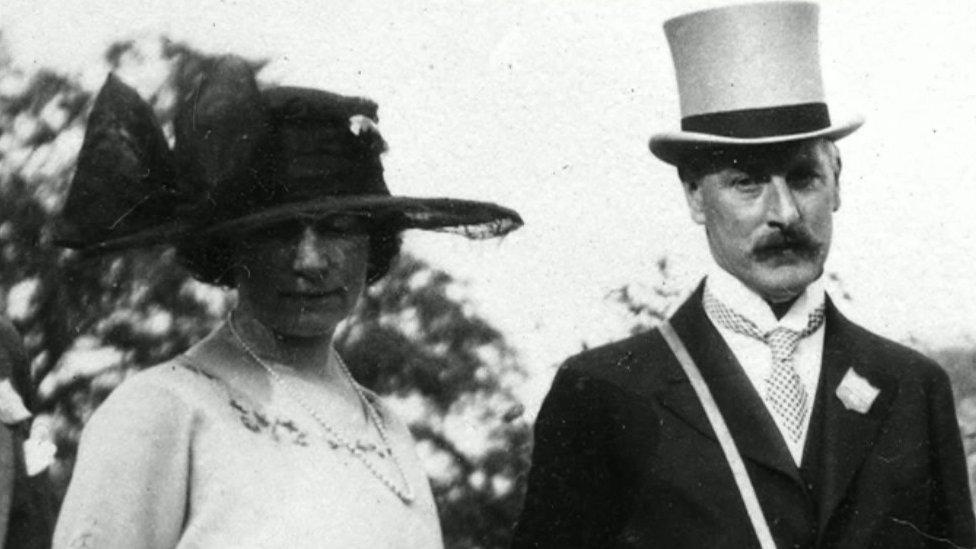 Lady Chubb and Sir Cecil Chubb