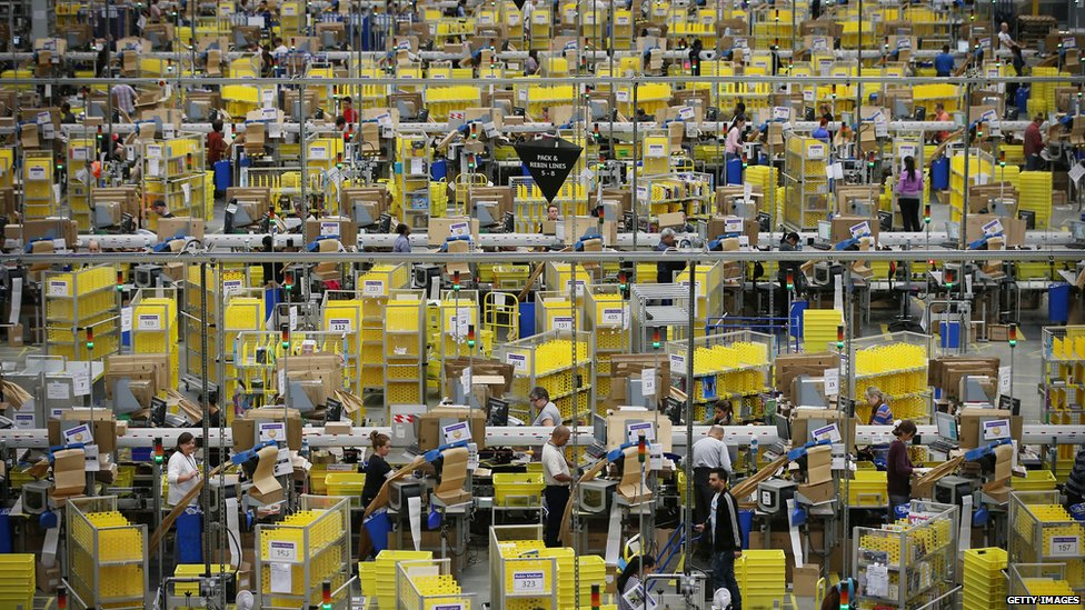 Amazon fulfilment centre