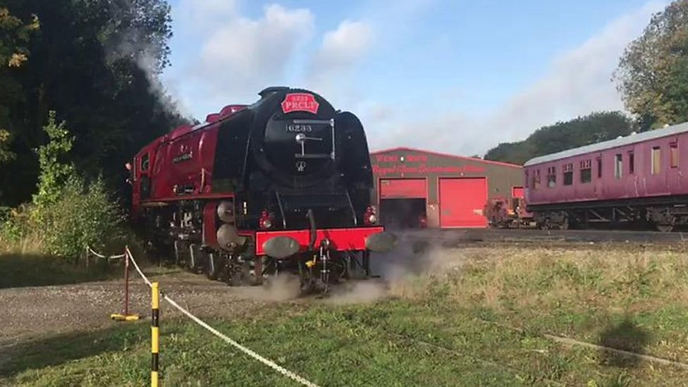 Duchess of Sutherland back in action after overhaul