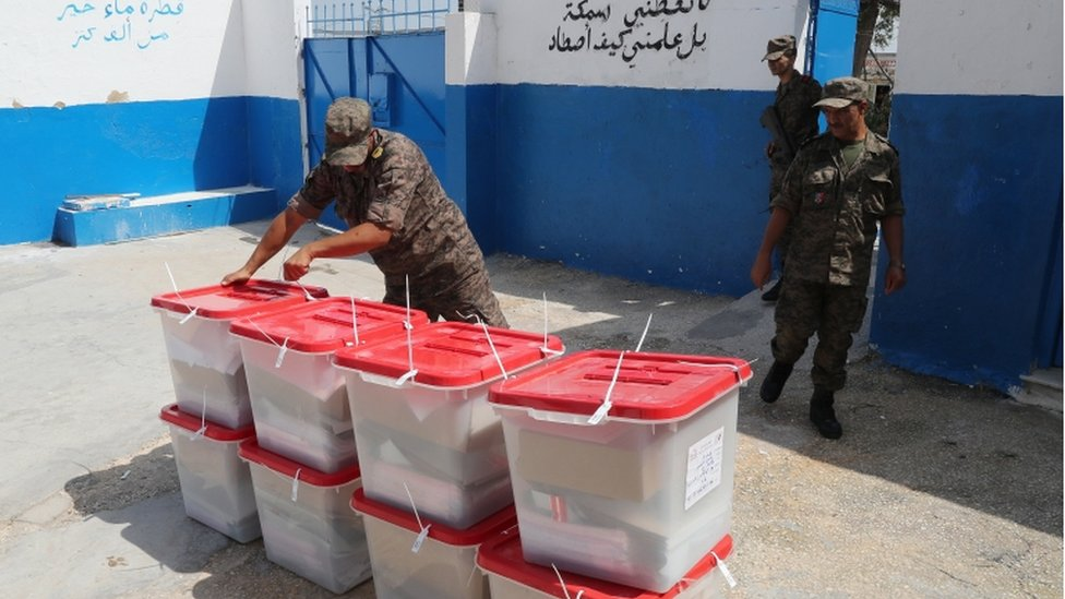 الاستعدادات للانتخابات الرئاسية التونسية