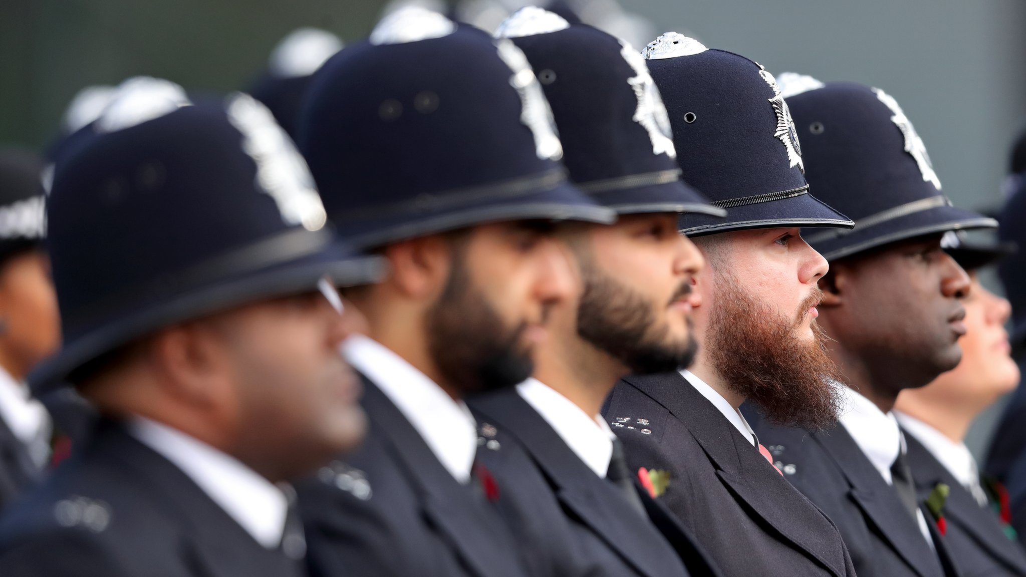 Seven charts that show how the police have changed
