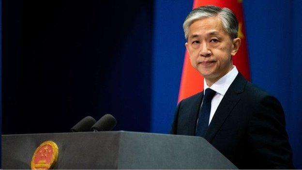 中國外交部發言人汪文斌(資料圖片)