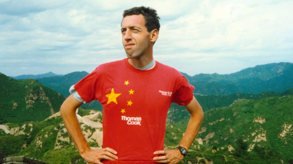 William Lindesay on the Great Wall