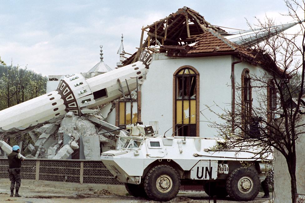 Džamija u centralnoj BiH uništena tokom sukoba sa hrvatskim snagama