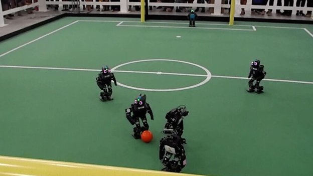Hertfordshire's RoboCup team from 2014