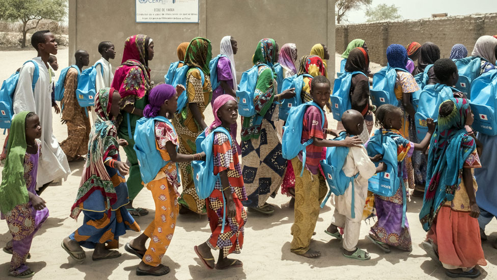 Yakoua school in Bol in Chad