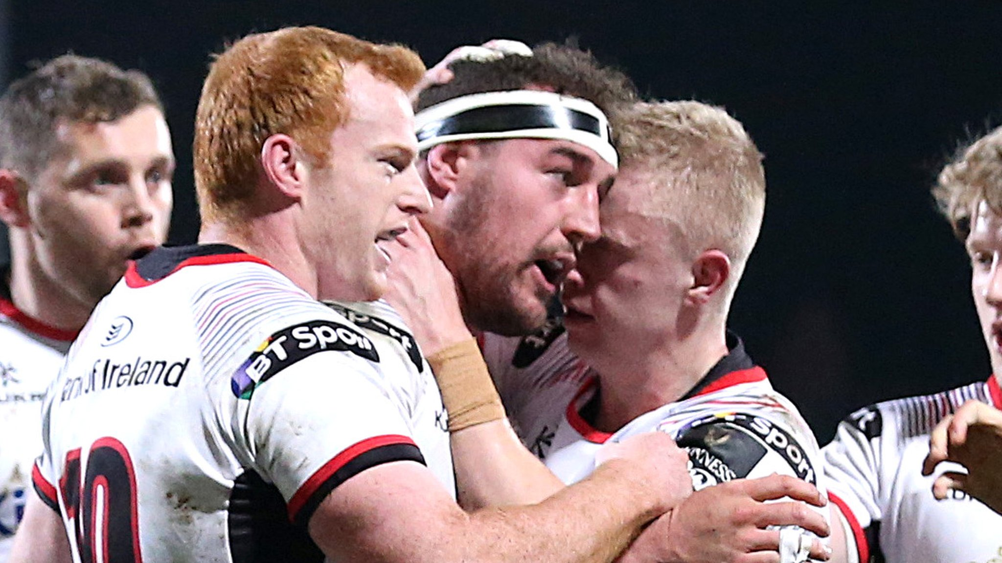 Pro14: Ulster 54-7 Zebre