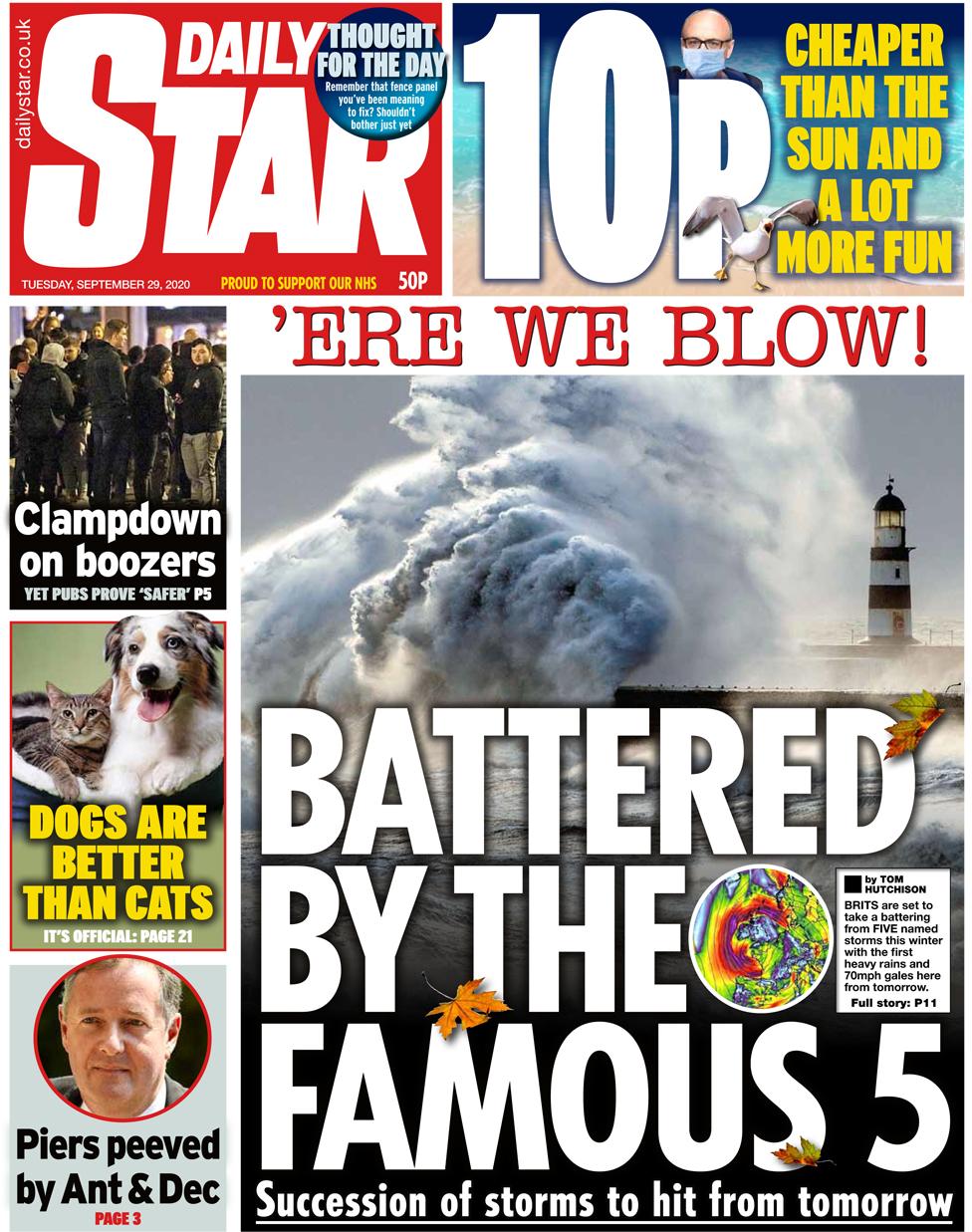 Daily Star 29 Sep