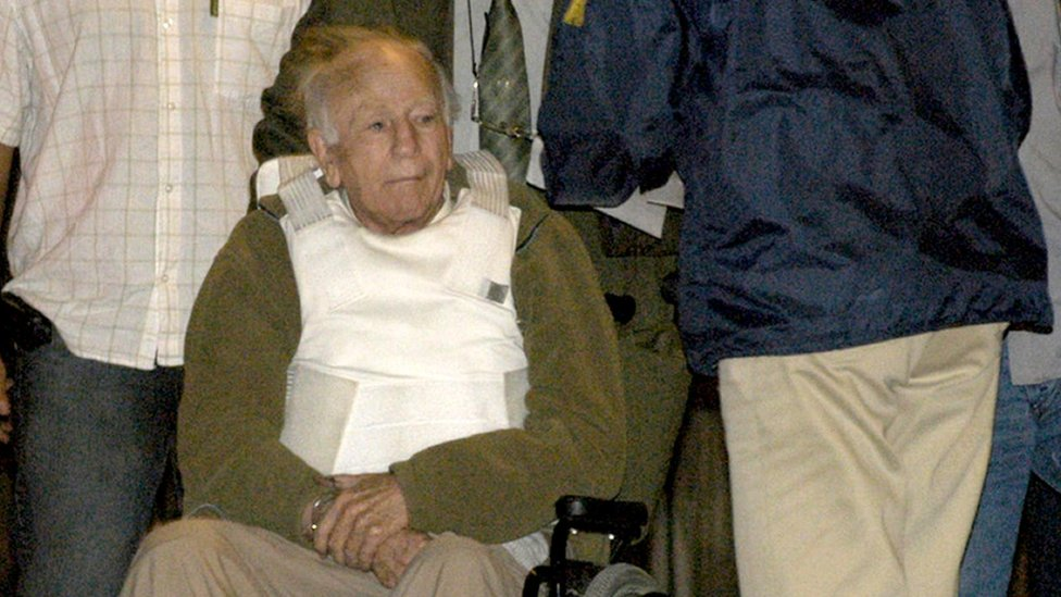 Paul Schäfer is on 13 March 2005 in Buenos Aires