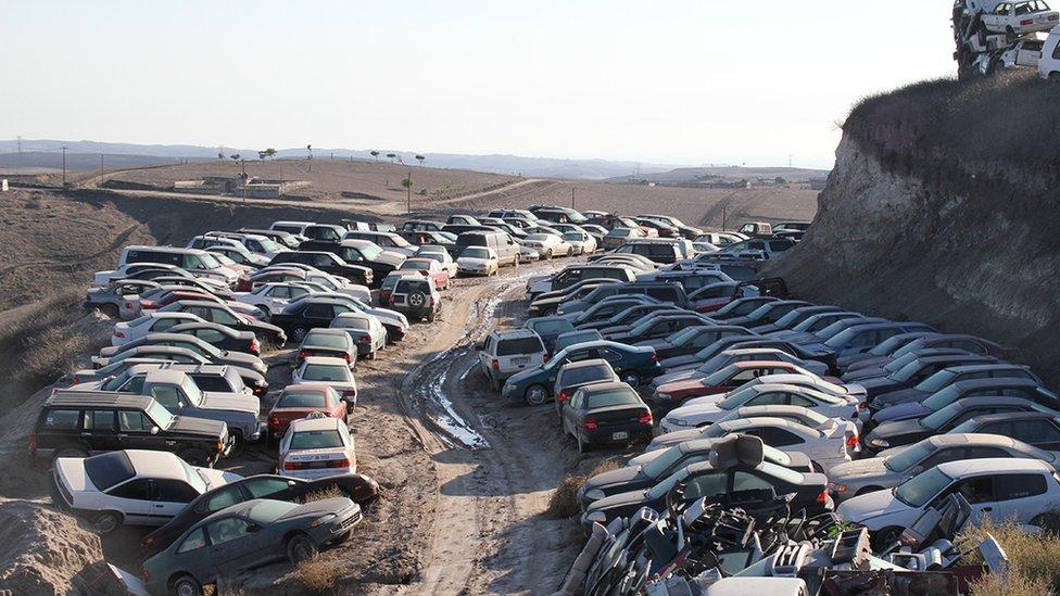 carros robados NO USAR | BBC