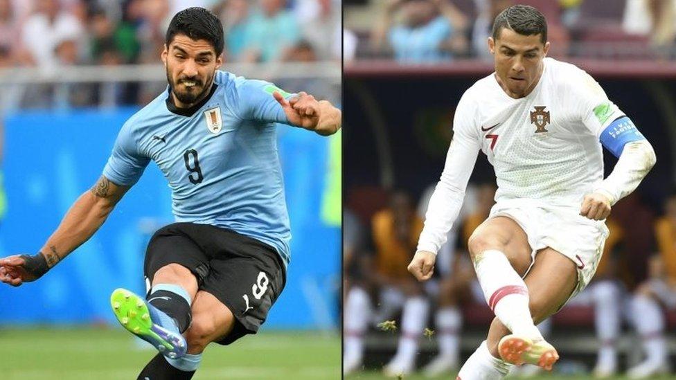 Suárez y Ronaldo