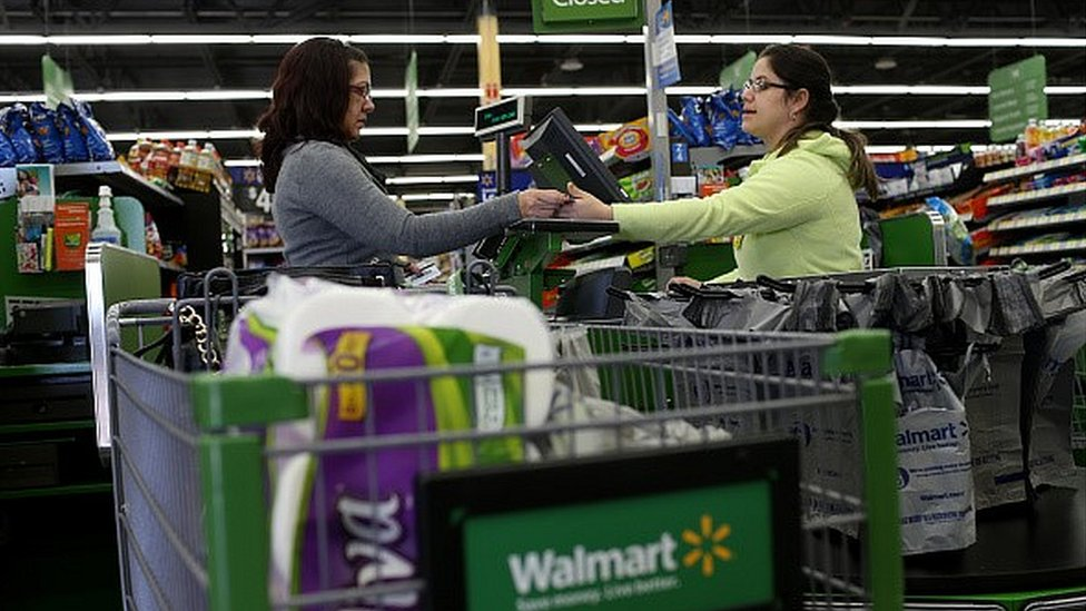 Walmart Canada To Stop Accepting Visa Bbc News