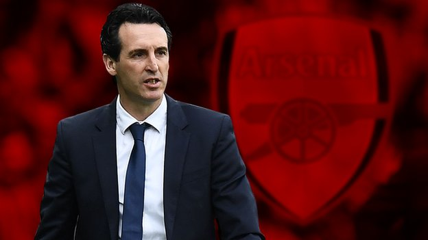 Unai Emery: Arsenal name former PSG boss as successor to Arsene Wenger
