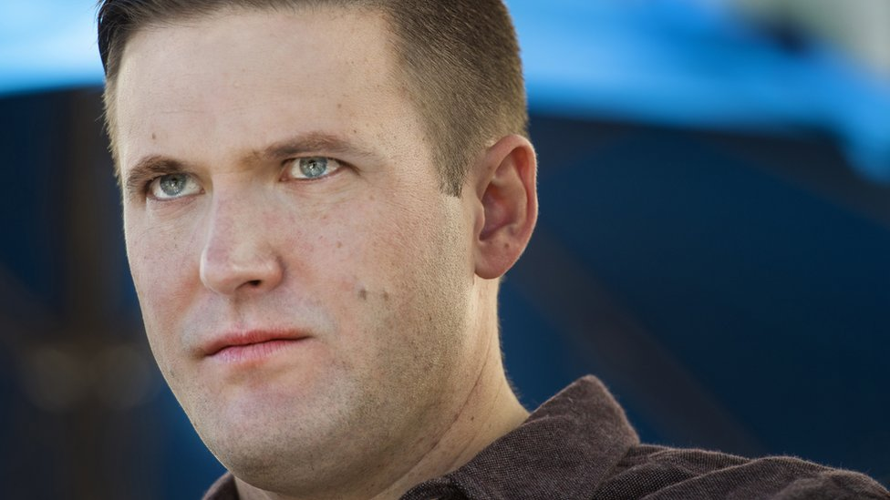 US white nationalist Richard Spencer's wife says he abused her