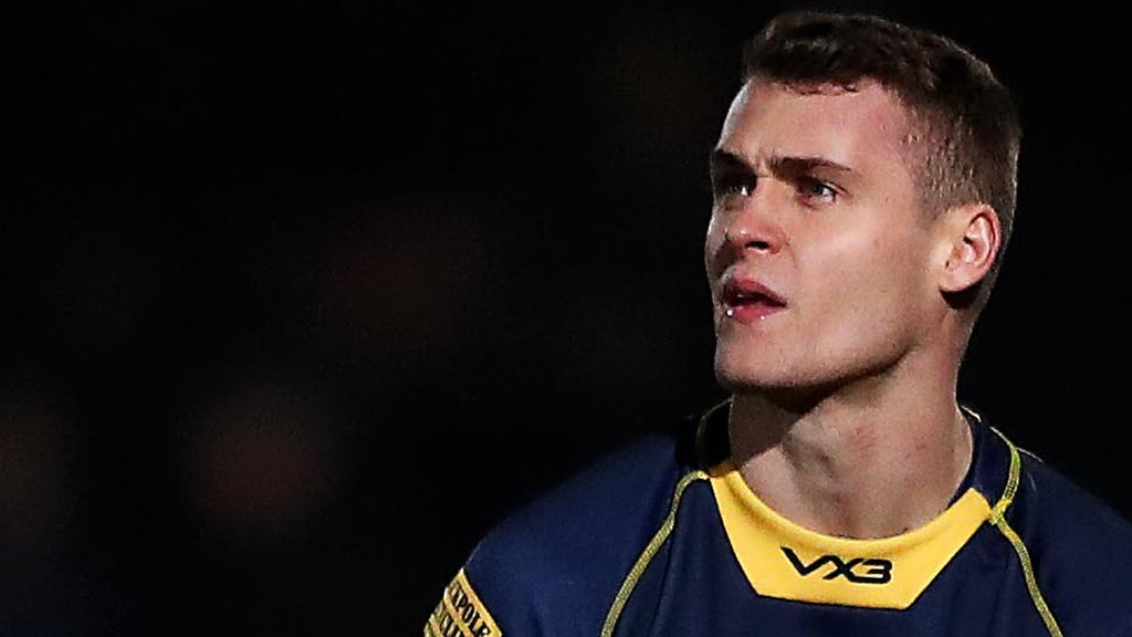 Jamie Shillcock: Worcester Warriors fly-half signs new two-year deal
